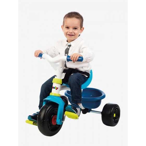 SMOBY Tricycle Be fun - bleu