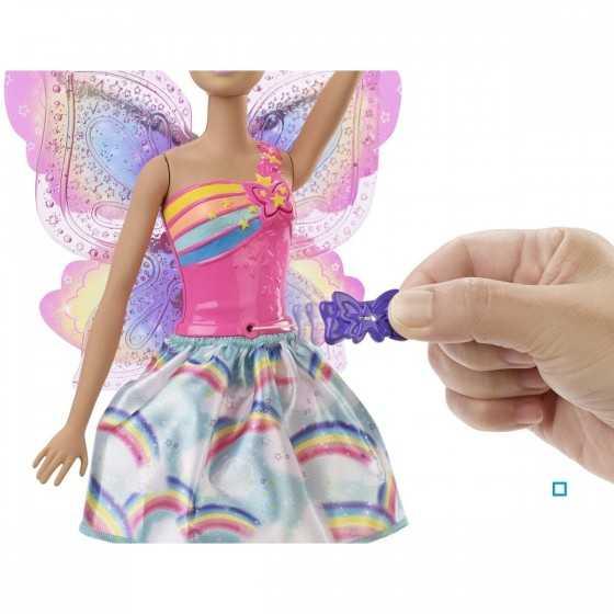 Barbie Dreamtopia Fée papillon blonde