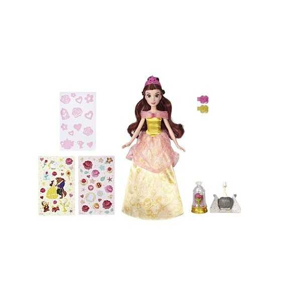 Poupée Belle et sa robe enchantée