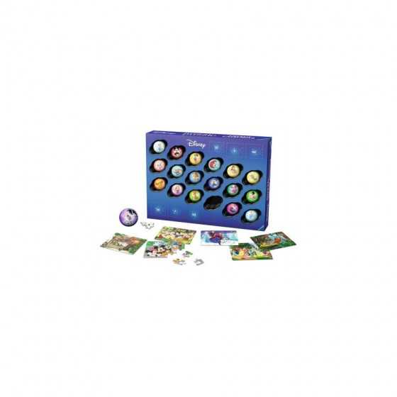 RAVENSBURGER Calendrier de l'avent Disney Puzzle 3d