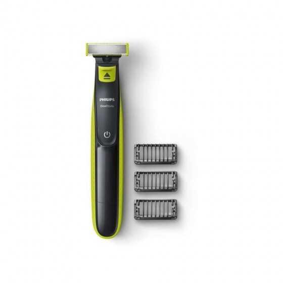 PHILIPS One Blade QP2520/20 Tondeuse à barbe - 3 peignes
