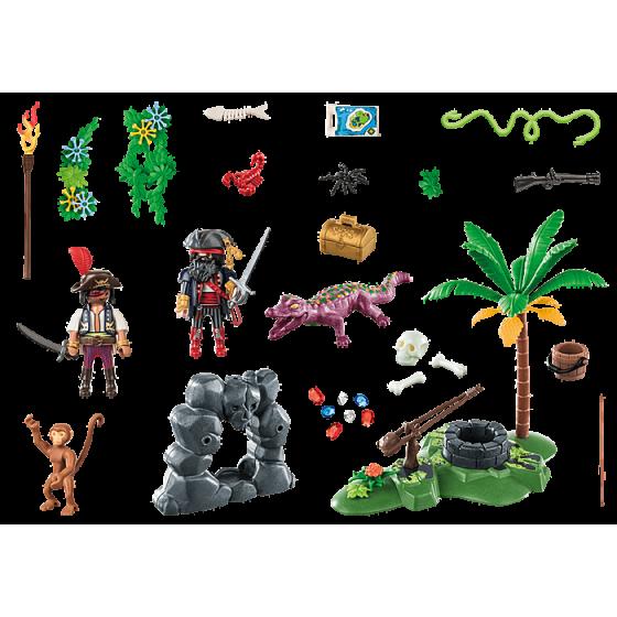 PLAYMOBIL 70414 - Repaire du trésor des pirates