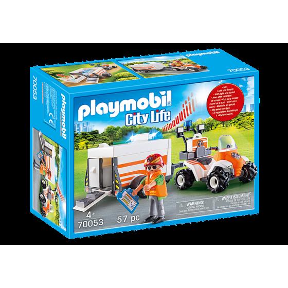 PLAYMOBIL 70053 - Quad Et...