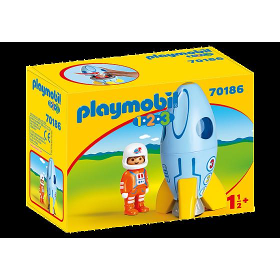 PLAYMOBIL 70186 - Fusée et...