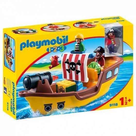 PLAYMOBIL123  9118 Bateau...
