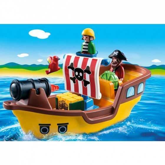 PLAYMOBIL123  9118 Bateau de pirates