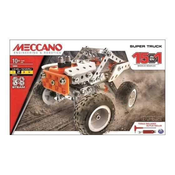 MECANO - SUPER TRUCK 15 en 1