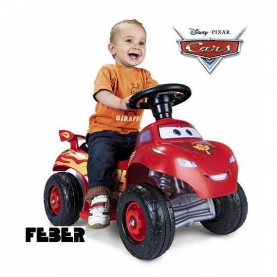 FEBER CARS Mini Quad Lightning McQueen 3
