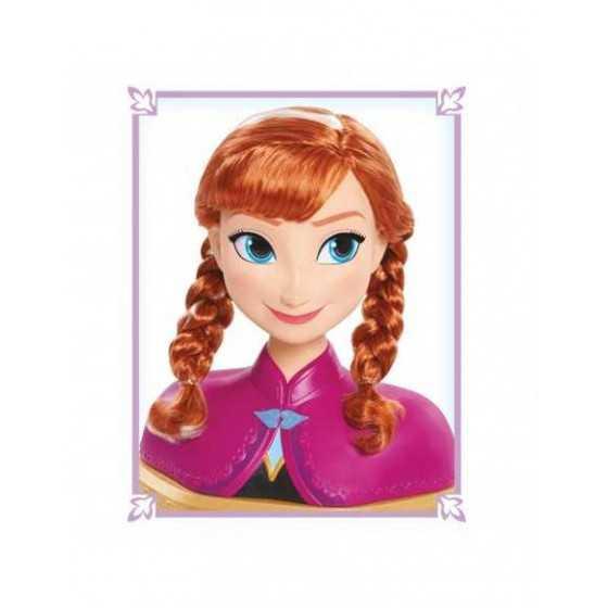DISNEY LA REINE DES NEIGES 2 - Anna tête à coiffer