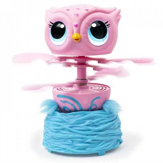 Owleez rose - Ma petite chouette volante
