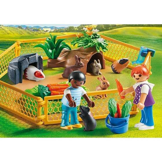 PLAYMOBIL 70137 Enfants avec petits animaux