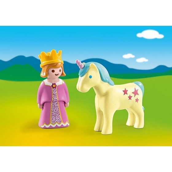 PLAYMOBIL 123 - 70127 Princesse et licorne