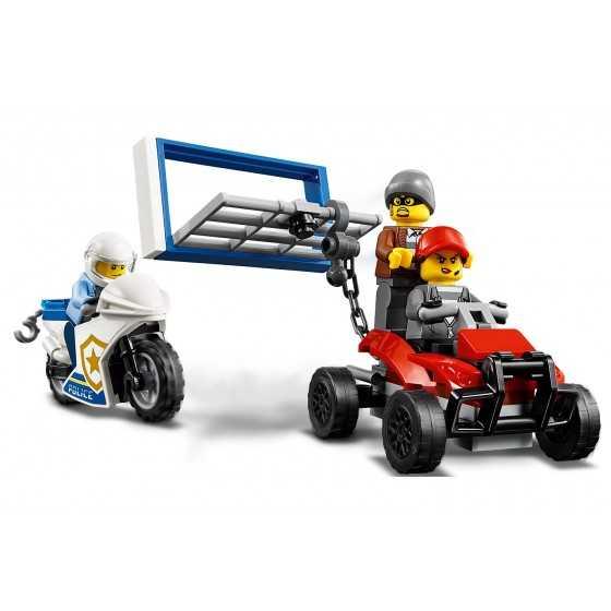 LEGO CITY  60244 -  Le Transport De L'hélicoptère De La Police -