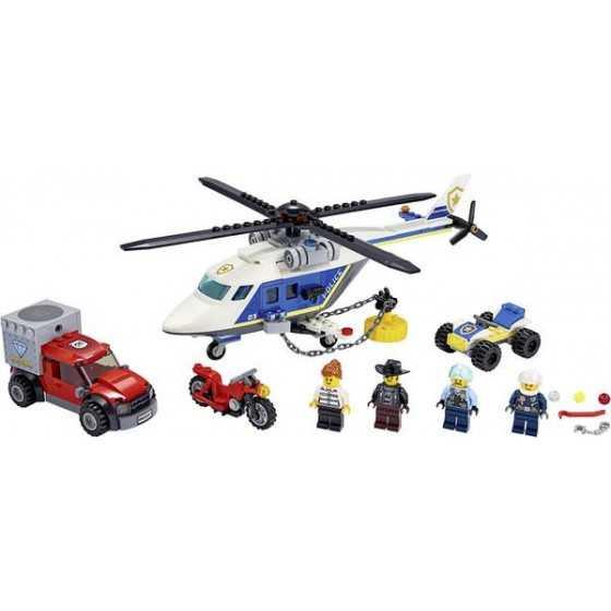 LEGO City 60243  -  L'arrestation En Hélicoptère