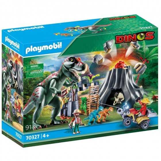 PLAYMOBIL 70327 - Dinos île...
