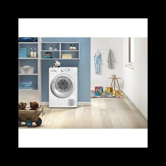 Sèche-linge pompe à chaleur INDESIT YTM0871FR - 7 Kg - Classe A+ - Blanc