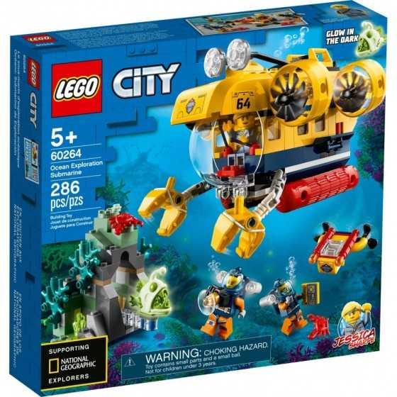 Lego 60264 Le sous-marin...