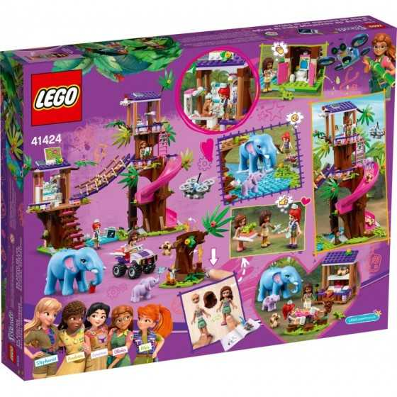 Lego 41424 La base de sauvetage dans la jungle