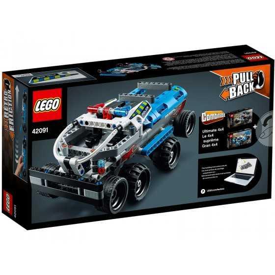 Lego Technic 42091La voiture de police