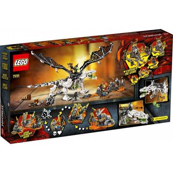 Lego Ninjago 71721 Le dragon du Sorcier au Crâne