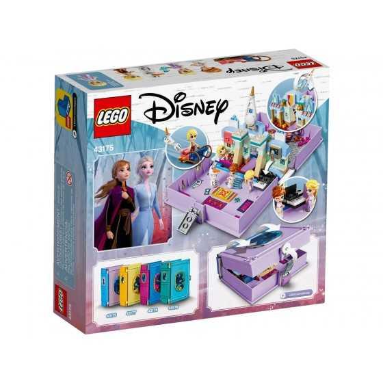 Lego 43175 Les aventures d'Anna et Elsa dans un livre de contes