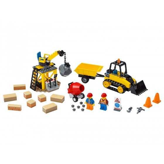 Lego City 60252 Le chantier de démolition