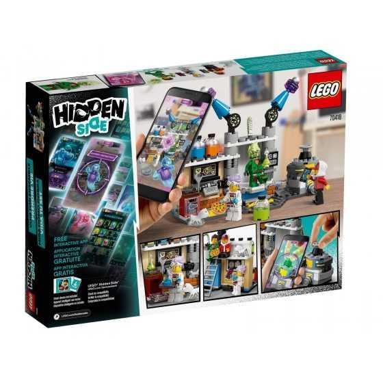 Lego Hidden Side 70418 Le laboratoire détecteur de fantômes