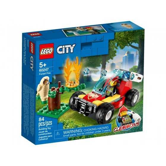 Lego City 60247 Le feu de...