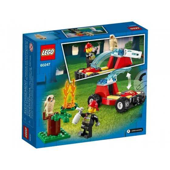 Lego City 60247 Le feu de forêt