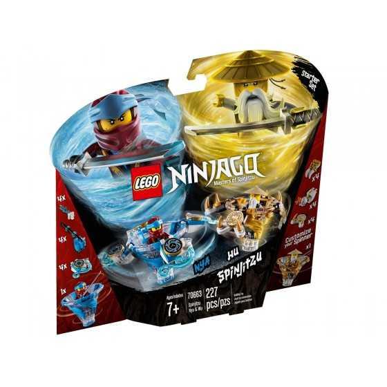 Lego Ninjago 70663 Toupies...