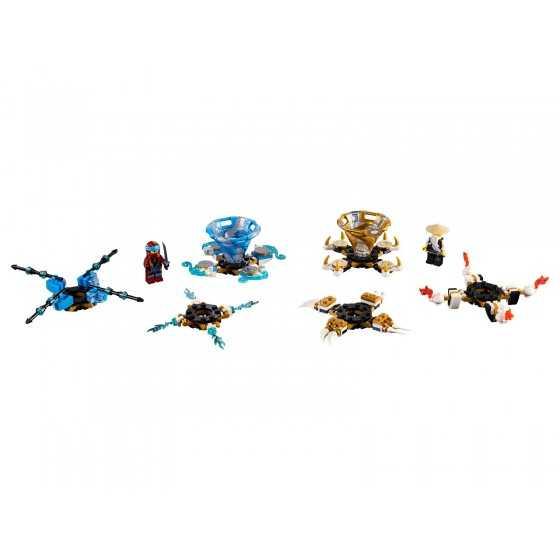 Lego Ninjago 70663 Toupies Spinjitzu Nya & Wu