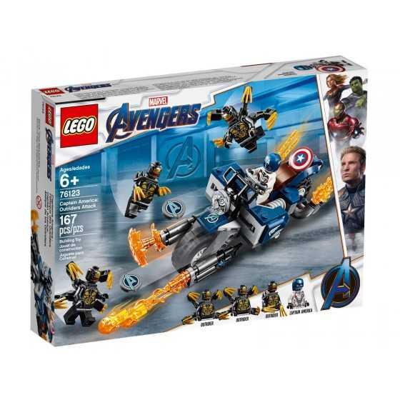 Lego 76123 Captain America...