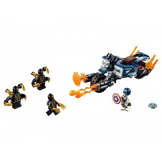 Lego 76123 Captain America et l'attaque des Outriders