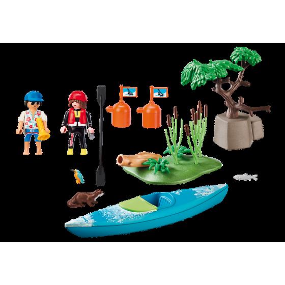 Playmobil 70035 Sportifs et kayak