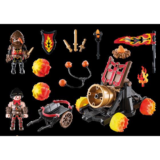 Playmobil 70394 Catapulte à lave des Burnham Raiders