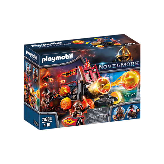 Playmobil 70394 Catapulte à...