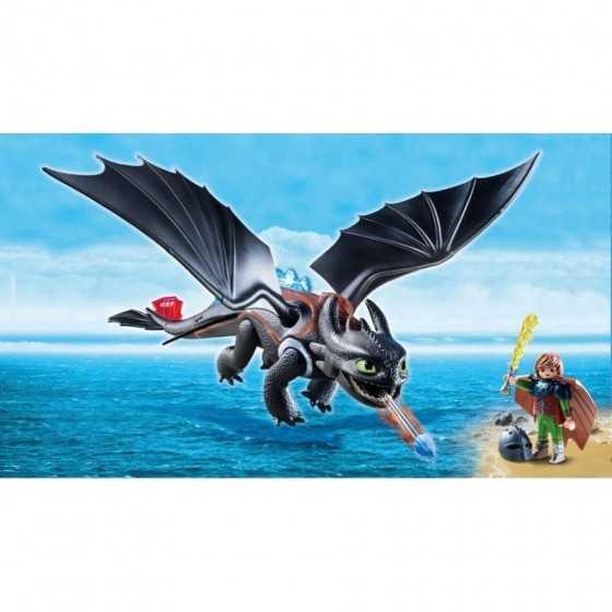 Playmobil 9246 Dragons Harold et Krokmou