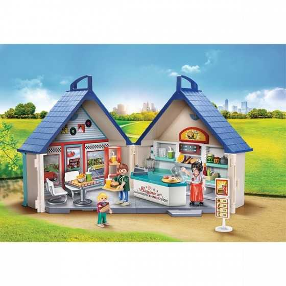 Playmobil 70111 Restaurant Transportable