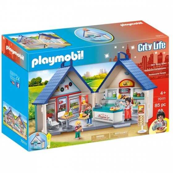 Playmobil 70111 Restaurant...