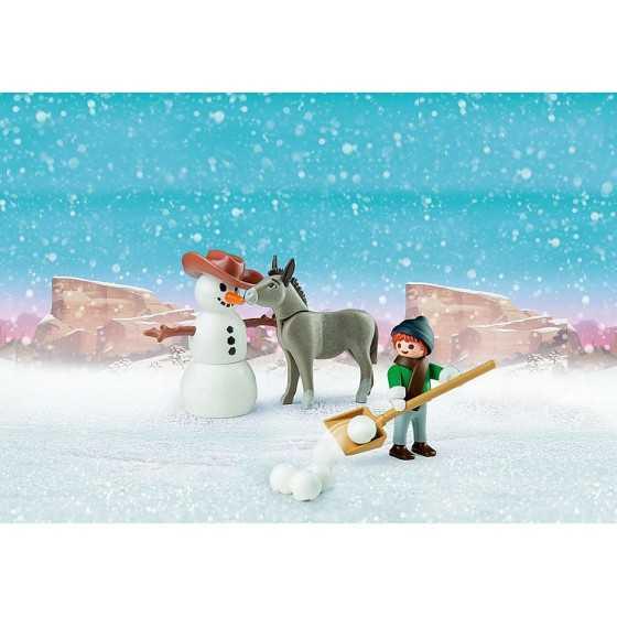 PLAYMOBIL 70398 La Mèche et Monsieur Carotte en hiver