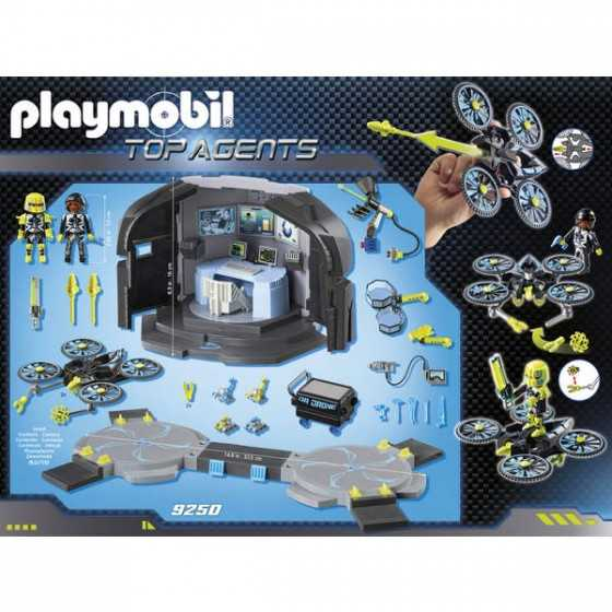 Playmobil 9250 Centre de commandement du Dr. Drones