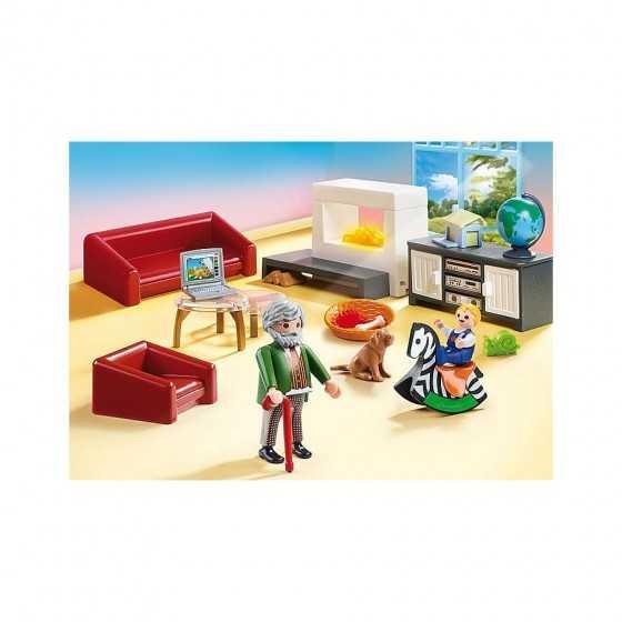 Playmobil 70207 Salon avec cheminée