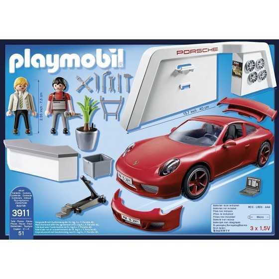 Playmobil 3911 Atelier Porsche 911 Carrera S