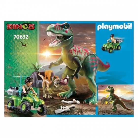 Playmobil 70632 Explorateur avec quad et dinosaures