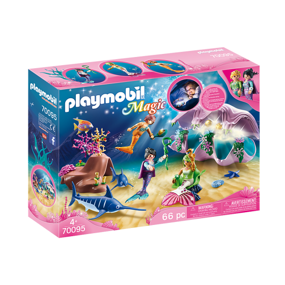 Playmobil 70095 Coquillage...