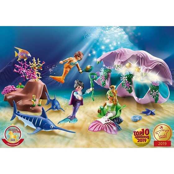 Playmobil 70095 Coquillage lumineux avec sirènes