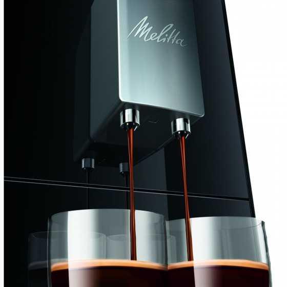 MELITTA Expresso broyeur - E950-101 Noir