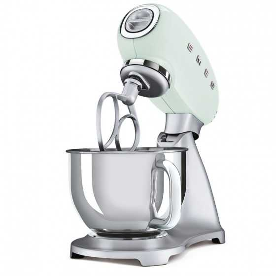 SMEG - Robot culinaire SMF02PGEU vert d'eau