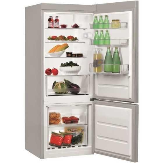 INDESIT Réfrigérateur Combiné LR6 S1 266 L
