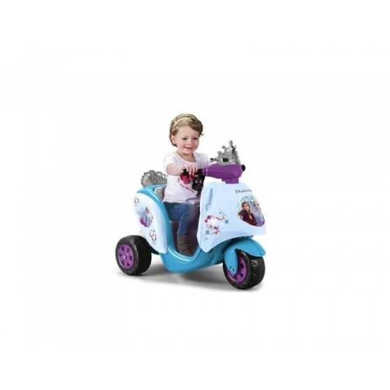 FEBER Scooter électrique pour enfant - La reine des neiges 2
